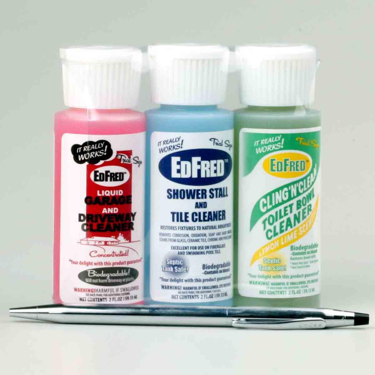 EDFRED 2 Oz. x 3 Triple Shot Stain Pack (FREE SHIPPING Via USPS)