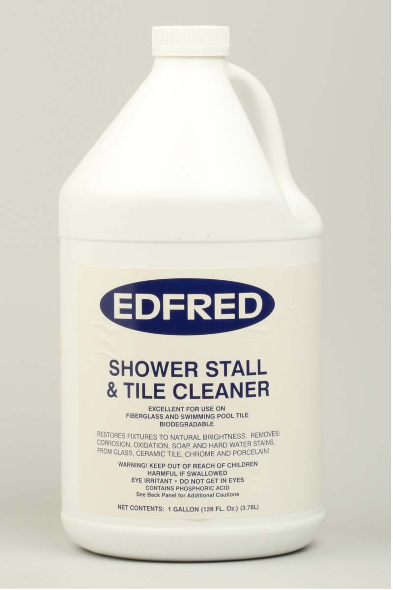 EDFRED 128 oz. Original Shower Stall & Tile Cleaner (Case Of Four Gallons)