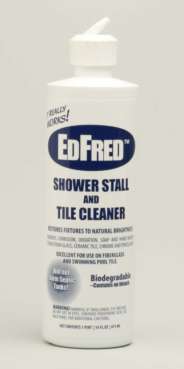 Edfred Corporation I AM CLEANING THIS Bath Shower Ceramic - Best product to clean ceramic tile shower